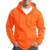 Tall Essential Fleece Full Zip Hooded Sweatshirt